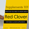 TOP 10 RED CLOVER SUPPLEMENTS