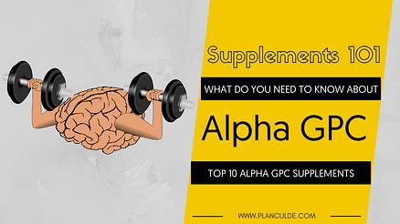 TOP 10 ALPHA GPC SUPPLEMENTS