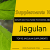 TOP 10 JIAOGULAN SUPPLEMENTS