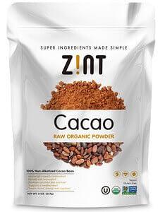 Buy Zint Raw Organic Cacao Powder