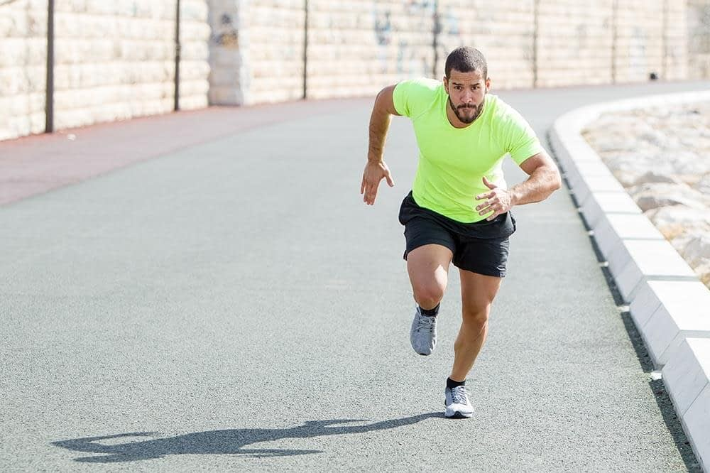 Sprints for cardio workout
