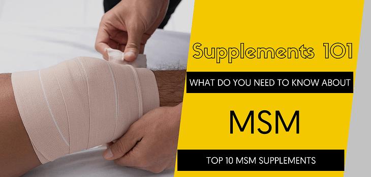 TOP 10 MSM SUPPLEMENTS