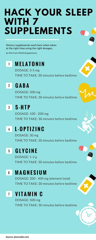 Hack Your Sleep With Sleep Supplements Stack