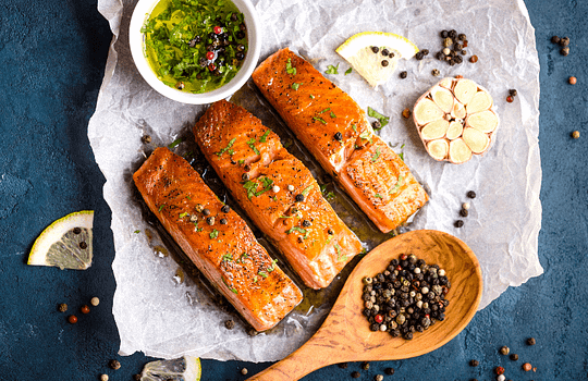 Best Food for Old People - Salmon