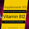 TOP 10 VITAMIN B12 SUPPLEMENTS