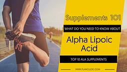 TOP 10 ALA SUPPLEMENTS