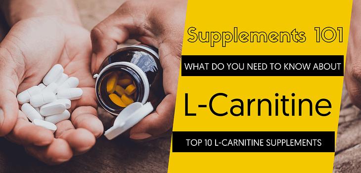 TOP 10 L-CARNITINE SUPPLEMENTS
