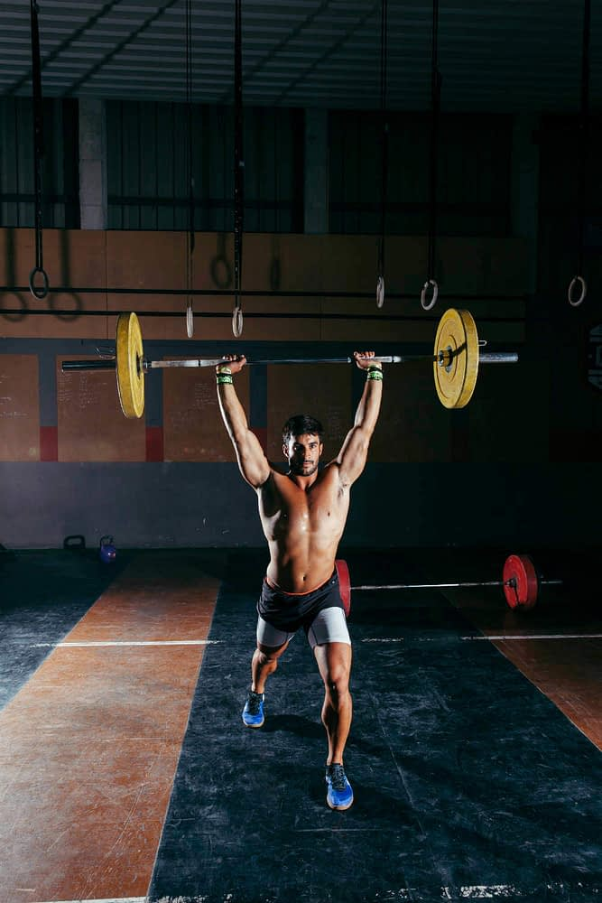 clean and jerk clean and press weightlifting